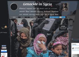 Genocideinsyria.org thumbnail