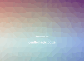 Gentlemagic.co.za thumbnail