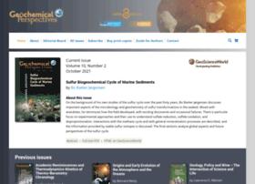 Geochemicalperspectives.org thumbnail