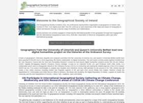 Geographicalsocietyireland.ie thumbnail