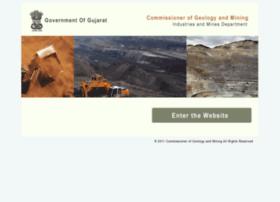 Geomining.gujarat.gov.in thumbnail