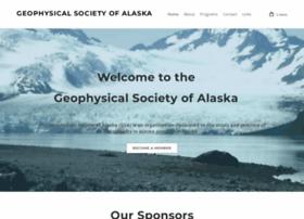 Geophysicalsocietyofalaska.org thumbnail
