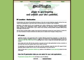 Geoplugin.net thumbnail