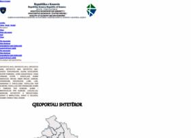 Geoportal.rks-gov.net thumbnail