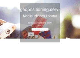 Geopositioning.services thumbnail