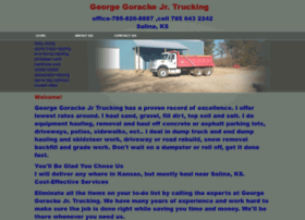 Georgegorackejrtrucking.net thumbnail