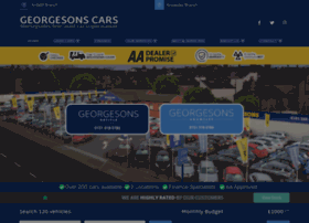 Georgesonscars.co.uk thumbnail