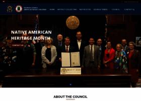 Georgiaindiancouncil.org thumbnail