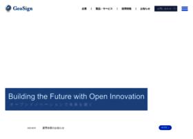 Geosign.co.jp thumbnail