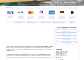 Geradorcartaodecredito.com.br thumbnail