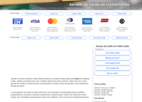 Geradordecartao.com.br thumbnail