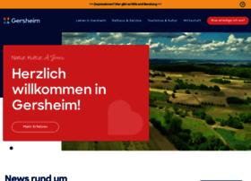 Gersheim.de thumbnail