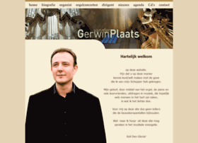 Gerwinvanderplaats.nl thumbnail
