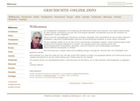 Geschichte-online.info thumbnail
