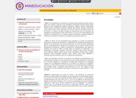 Gestionsecretariasdeeducacion.gov.co thumbnail