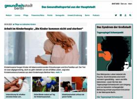 Gesundheitsstadt-berlin.de thumbnail