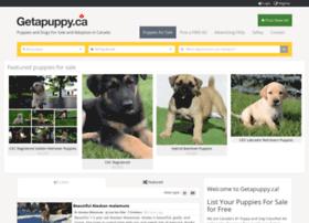Getapuppy.ca thumbnail