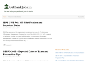 Getbankjobs.in thumbnail