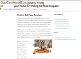 Getcatfoodcoupons.com thumbnail