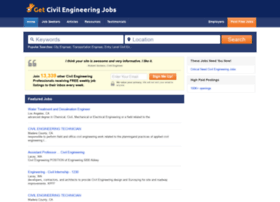 Getcivilengineeringjobs.com thumbnail