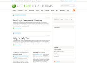 Getfreelegalforms.com thumbnail