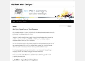Getfreewebdesigns.com thumbnail