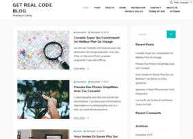 Getrealcode.website thumbnail