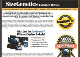 Getsizegeneticscanada.com thumbnail