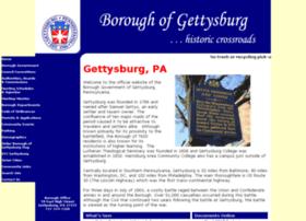 Gettysburg-pa.gov thumbnail