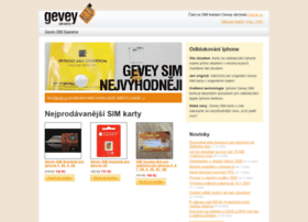 Gevey.cz thumbnail