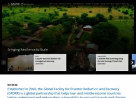 Gfdrr.org thumbnail