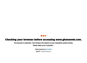 Ghana HomePage, resource for News, Sports, Facts, Opinions, Business
