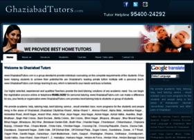Ghaziabadtutors.com thumbnail