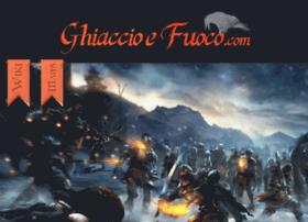 Ghiaccioefuoco.com thumbnail