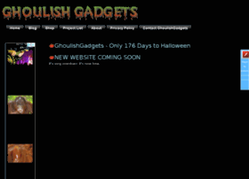 Ghoulishgadgets.co.uk thumbnail