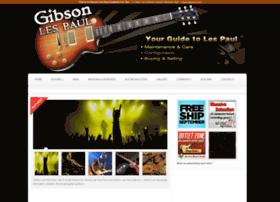 Gibsonlespaulguitars.net thumbnail