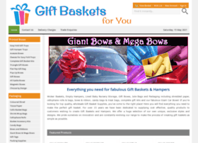 Giftbasketsforyou.co.uk thumbnail