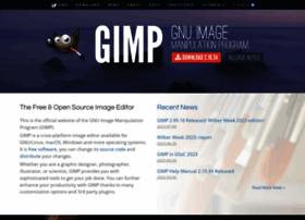 Gimp.org thumbnail