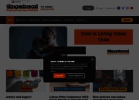 Gingerbread.org.uk thumbnail