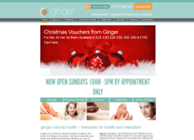 Gingernaturalhealth.co.uk thumbnail