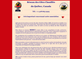 Gites-classifies.qc.ca thumbnail