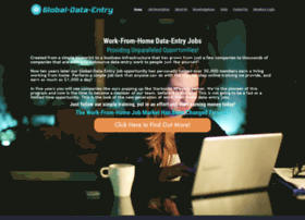 Global-data-entry.com thumbnail
