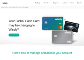 globalcashcard.com at WI. Global Cash Card - The Leader in Custom Paycard Solutions