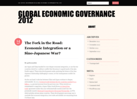 Globaleconomicgovernance2012.wordpress.com thumbnail