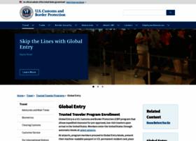 Globalentry.gov thumbnail