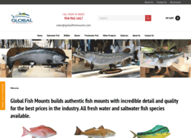 At wi fish mounts official page for Global fish mounts