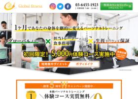 Globalfitness.jp thumbnail