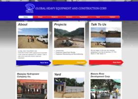 Globalheavyequipment.net thumbnail