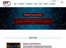 Globalpolicy.org thumbnail