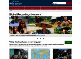 Globalrecordings.net thumbnail